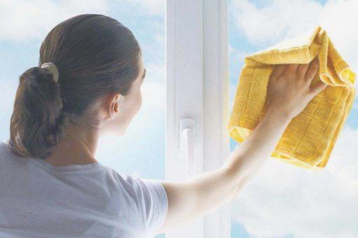Netoyage de vitres
